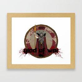 Glad of War Framed Art Print