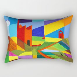 Cornish Tin Mines Rectangular Pillow