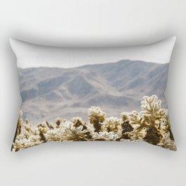 Cholla Cactus Garden Rectangular Pillow
