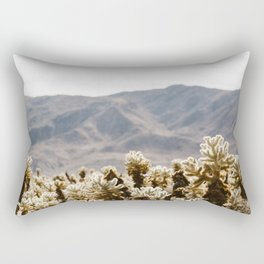 Cholla Cactus Garden Rectangular Pillow