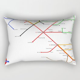 There And Back Again Rectangular Pillow