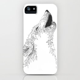 I am Wolves iPhone Case