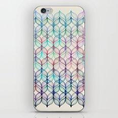 Mermaid's Braids - a colored pencil pattern iPhone & iPod Skin