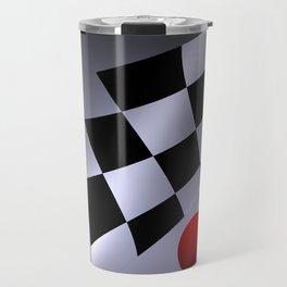 bicubic waves -3- Travel Mug