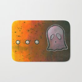 dot dot dot GHOST! Bath Mat