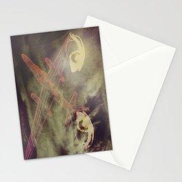 Föckheed laminate badge Stationery Cards