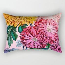 Garden Mums Rectangular Pillow