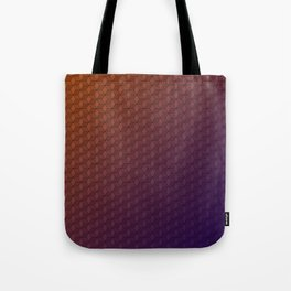 Gradient cube pattern Tote Bag