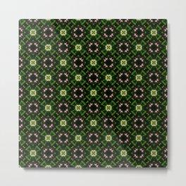 Wild Roses (pattern 116) Metal Print
