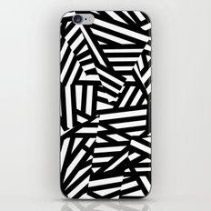 Simply Black and White 1 iPhone & iPod Skin