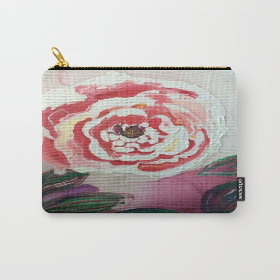 Mother's Day Flowers, Flowers That Will Last Forever Carry-All Pouch