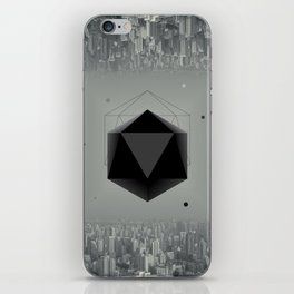 City Intruder iPhone Skin