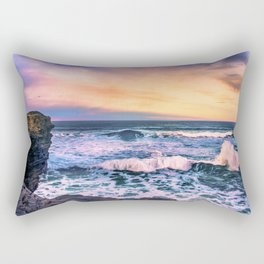 Sunset of the Bay of Biscay Rectangular Pillow