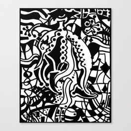 Hidden Genie Canvas Print