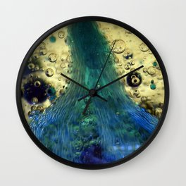 Cave of the Green Pearl Wall Clock