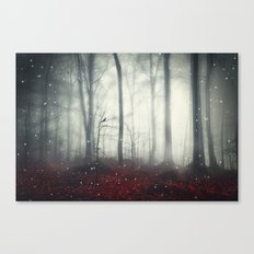 Spaces VII - Dreaming Woodland Canvas Print