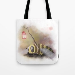 Enlighted Bee Tote Bag