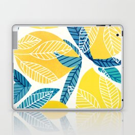 Lemon Tree / Abstract Fruit Art Laptop & iPad Skin