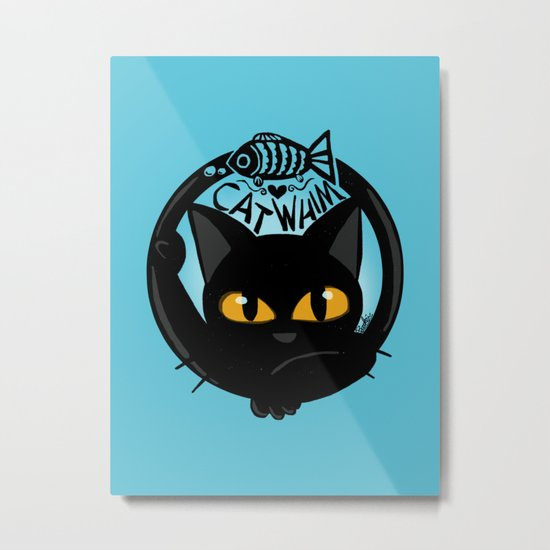 Whim with a fish Metal Print