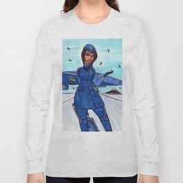 Flight to Winter Wonderland Long Sleeve T-shirt
