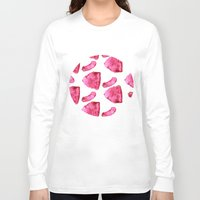meat Long Sleeve T-shirts featuring Meat by XiaBoiii