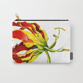 Gloriosa Lily Carry-All Pouch