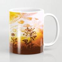 horses Mugs featuring Horses by Vitta