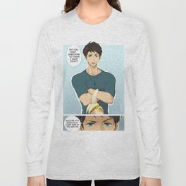 Sousuke and the banana Long Sleeve T-shirt