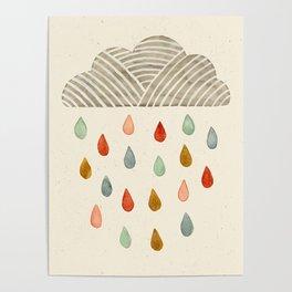 Rain Cloud Poster