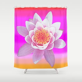 Ninfea Rose Shower Curtain