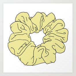 Scrunchie Art Prints Society6