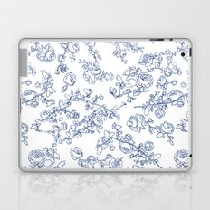 Toile Roses Laptop & iPad Skin