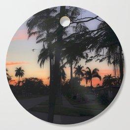 Shadow Palms Cutting Board