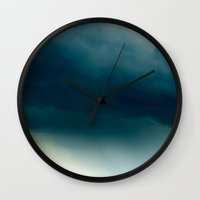storm Wall Clocks featuring Storm by 83 Oranges™