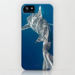 Peaceful Lemon Shark iPhone Case