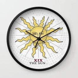 The Sun (Tarot Series) Wall Clock