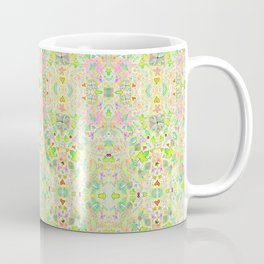 Leaf and Heart Design, includes 4 leaf clovers Coffee Mug