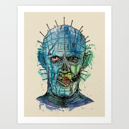 Zombie Raiser Art Print