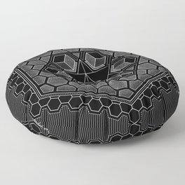 March Mandala 2018 Floor Pillow