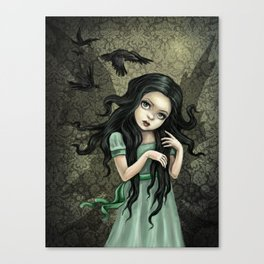 Shadow Wings Faerie Canvas Print