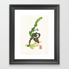 Capoeira 359 Framed Art Print