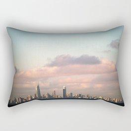City over Sea Rectangular Pillow