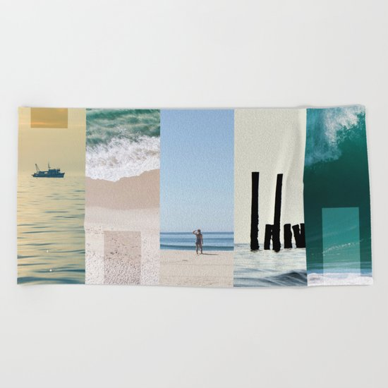 Sea And Sun Beach Towel