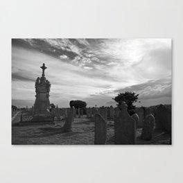 Portland Graveyard Canvas Print