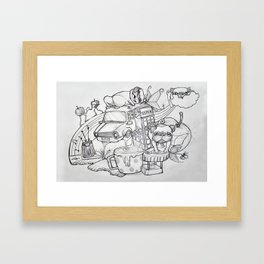 Laura Framed Art Print