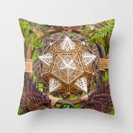 Earth Dragon Throw Pillow