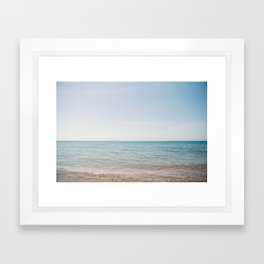 Michigan, Lake Framed Art Print