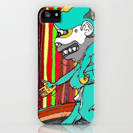 """""""Dance me, to the end of time..."""" (l.c) iPhone Case"""