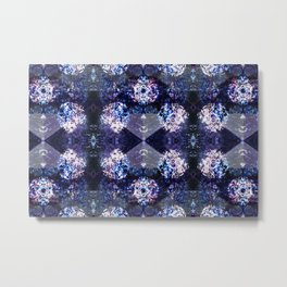 Disco Kaleidoscope Metal Print