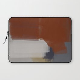 Chromed linear and traced art Laptop Sleeve